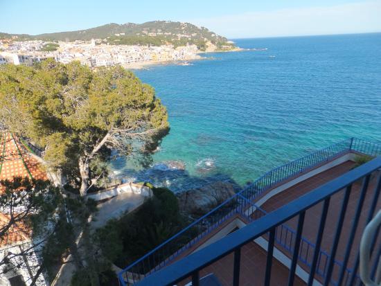 Hotel Sant Roc: vue du balcon de la chambre 204