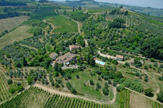 La Valle a Polvereto: Panoramic view property