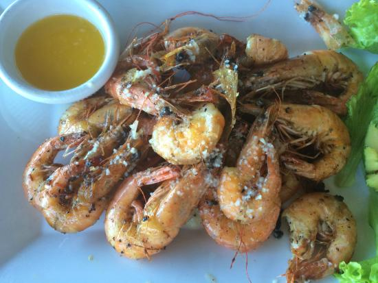 The Beach Club: Grilled Camarones (Shrimp)