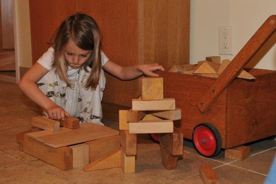 Emilia's Retreat Bed and Breakfast: Des jouets pour les enfants