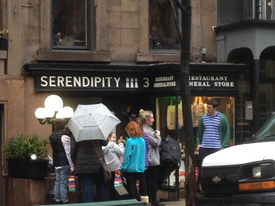 Cream Chicken Crepe - Picture of Serendipity 3, New York ...