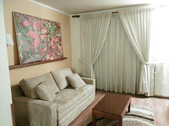 Hotel Boutique Confort Suites: La sala