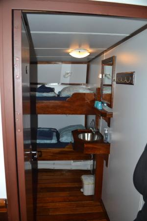 Ship in the Ice: Spacious cabins