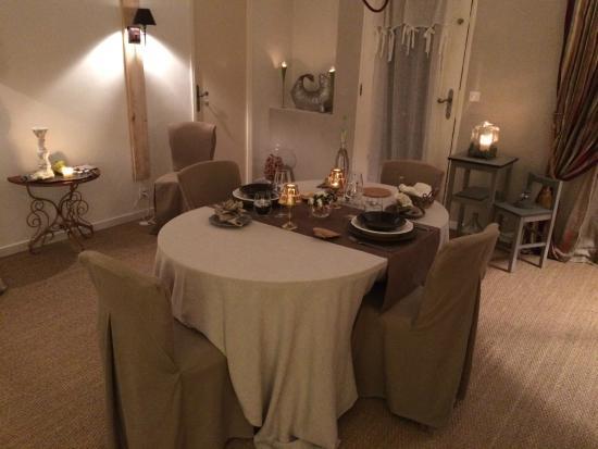Clos de la Barbanne: Private dining room