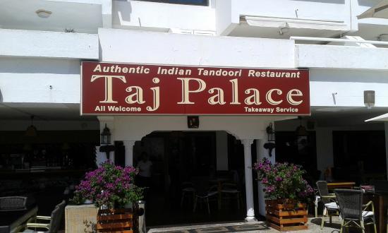 Taj Palace Indian Tandoori : taj palace portonovo