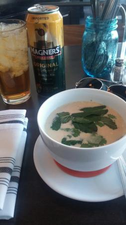 The best Thai Coconut Soup i've had here in Aspen! - Picture of Meat ...