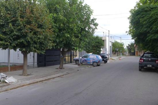 El Olivo Hotel: Rua do hotel