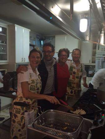 """Anna-Maria's Autentico Ristorante Italiano"". : Invited in to the Kitchen By Anna Maria and her husband Chris(owners). We ate their almost our e"