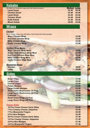 Kebabs Picture Of Bistro Pizza Bournemouth Tripadvisor