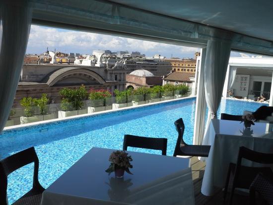 La piscina picture of boscolo exedra roma autograph - Hotel piscina roma ...