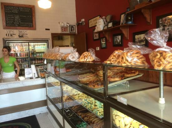 D'Amato's Bakery: Inside the bakery