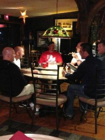 Richfield Springs, État de New York : Tavern dining