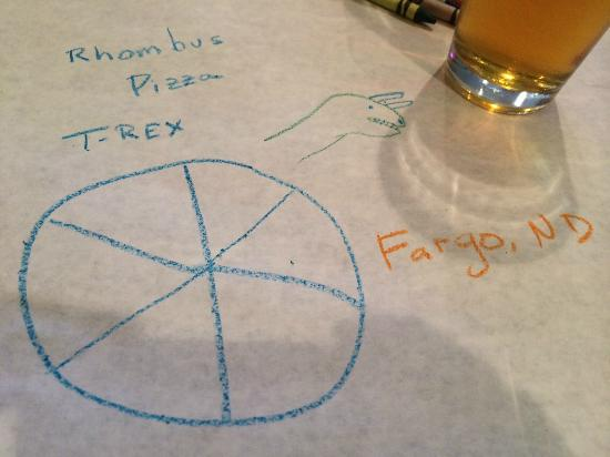 Rhombus Guys: Good pizza and beer
