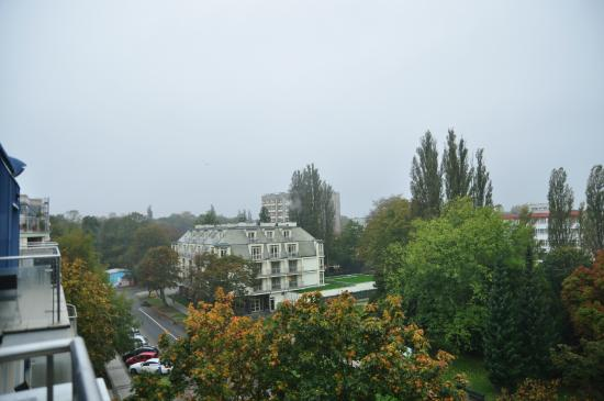 Aparthotel Baltic Spa: Widok z balkonu