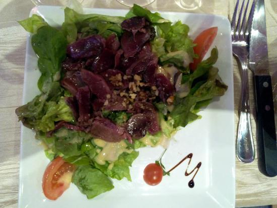 Le Jardin des Consuls: Salade de gésiers d'oie