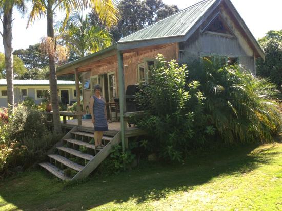 Purangi Gardens Accommodation: The bach