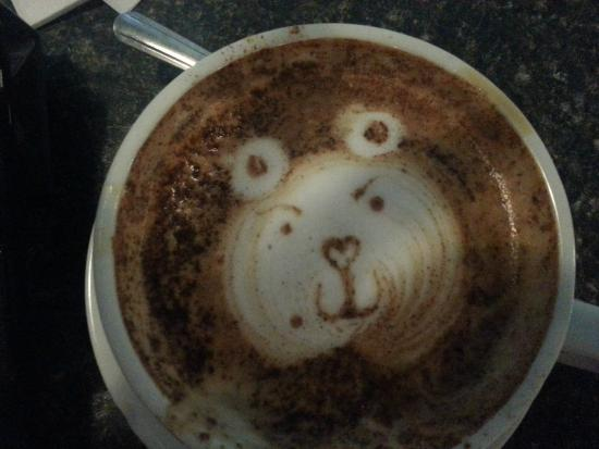 Caffe Vero : Cute designs in the Latte's
