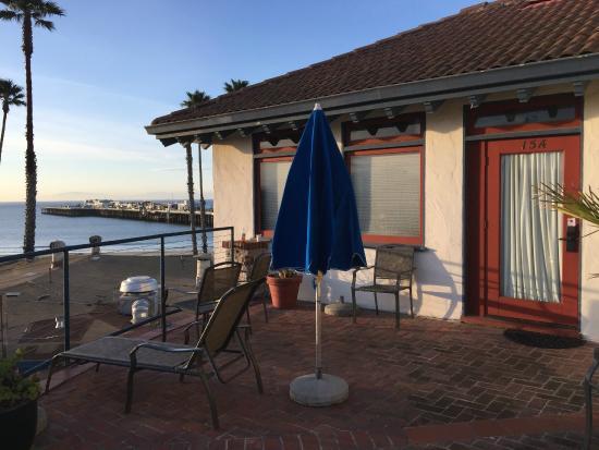 Casablanca Inn On The Beach Entry To Our Room 15a
