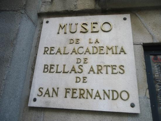 Museo de la Real Academia de Bellas Artes de San Fernando : San Fernando