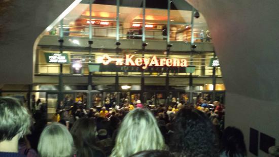 KeyArena: Outside Entrance