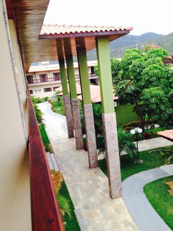 Hotel Estacao Cruzeiro : Vista da varanda do 1o andar