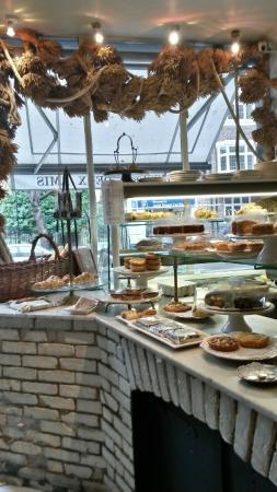 Inside the Patisserie Deux Amis