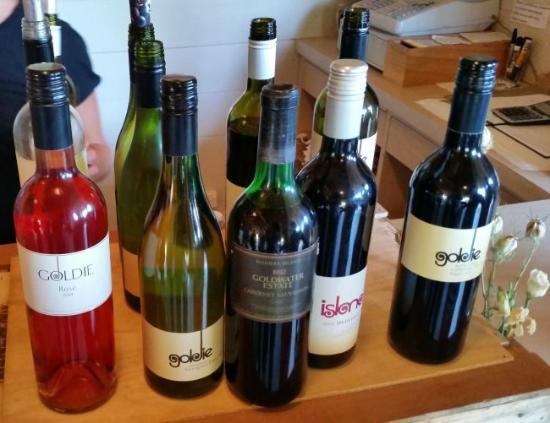 Isla Waiheke, Nueva Zelanda: different wines