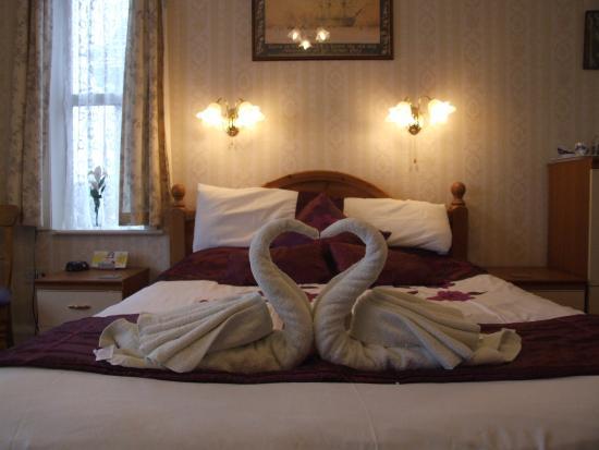 Knighton Lodge: room