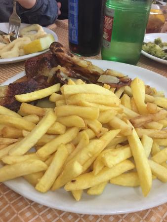 Lacio, Italia: Patate