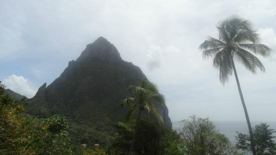 Typhoon Tours: Piton from the water