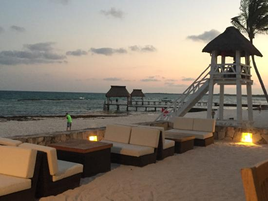 Mayan Palace Riviera Maya : Havana Moon Dinner View