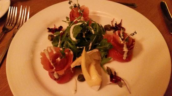 Smoked Salmon App, Pier 17 Restaurant, Shannon Ireland