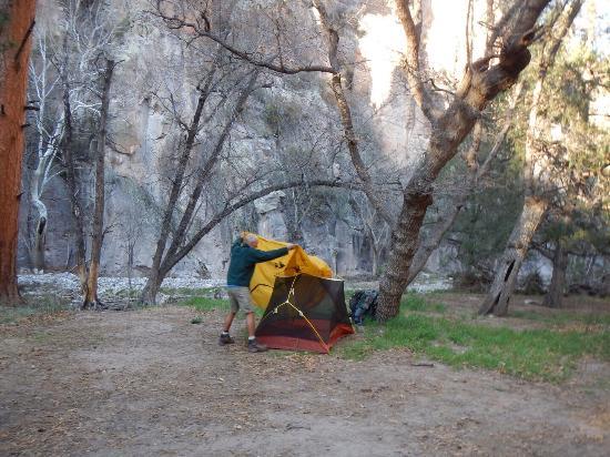 Mimbres, นิวเม็กซิโก: End of Little Bear Canyon