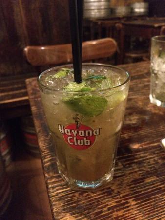 The Irish Pub: Mojito