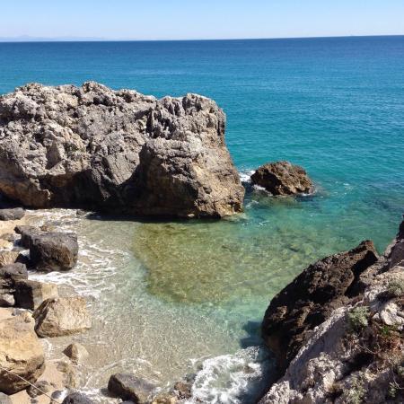 Varigotti, Italy: Baia dei Saraceni 28 marzo 2015