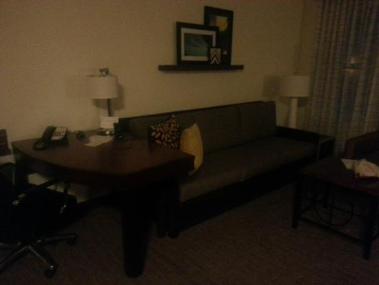 Residence Inn Clearwater Downtown: living room