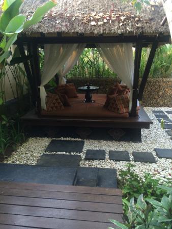 The St. Regis Bali Resort: our little backyard hut