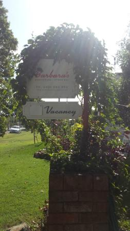 Barbara's Guesthouse : Easy to find.
