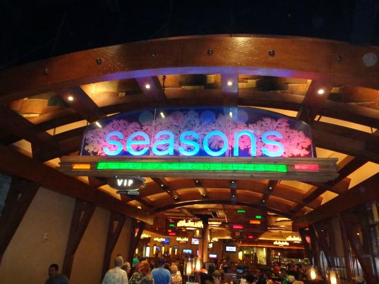 Front of Seasons Buffet