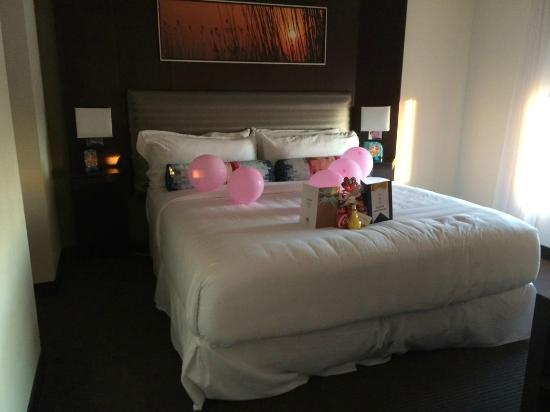 Aloft Silicon Valley: Surprise Decorations done by Aloft Staff