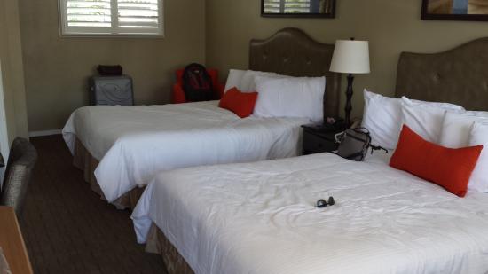 Marina Beach Motel: comfortable beds