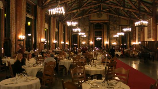 dinner - picture of the majestic yosemite dining room, yosemite