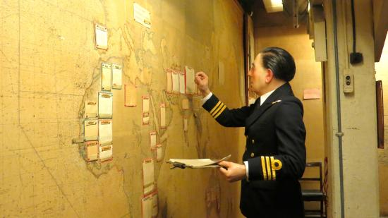 Map Room at Churchill War Rooms - Picture of Churchill War Rooms ...