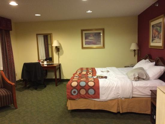 Super 8 Gettysburg: King double room
