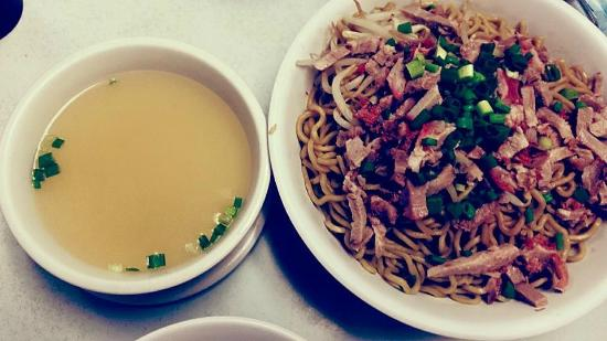 Sam Sato's Incorporated : Dry noodles - double to share with my fiancee