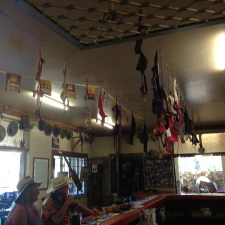 Innot Hot Springs, Australien: The interior of the pub area.