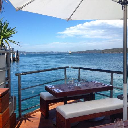 Hugos Manly : Lower deck dining