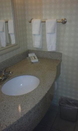 Hilton Garden Inn Gulfport Airport: Standard room #430, double beds.