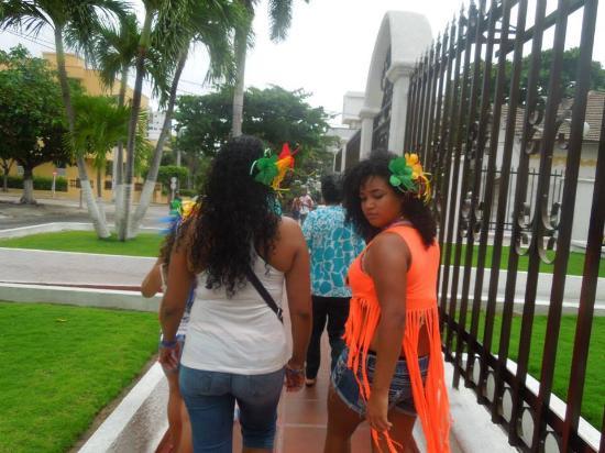 Hotel La Casona : Out barranquilla