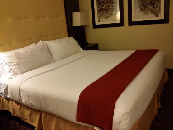 Holiday Inn Express Ogden : King bed